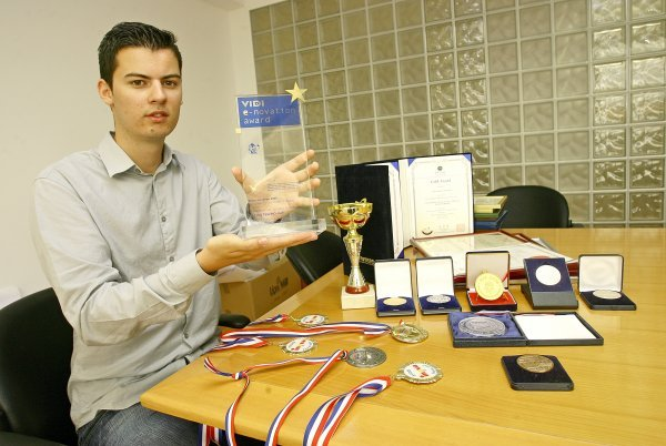 Mate Rimac je s već s 21 godinu svojim inovacijama zainteresirao hrvatsku i svjetsku javnost