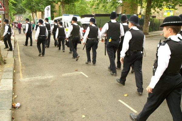 Britanska policija
