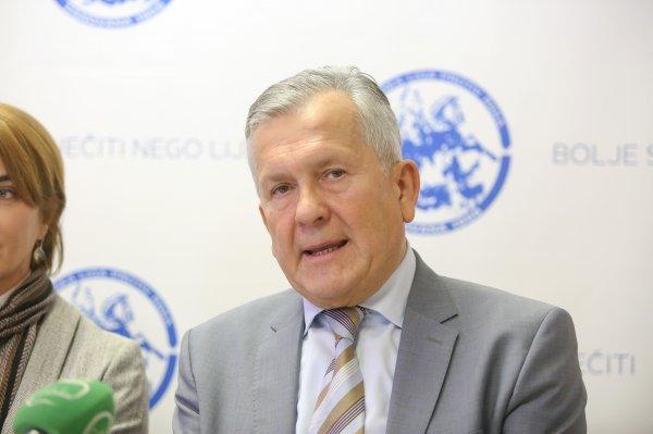 Damir Eljuga, predsjednik Hrvatske lige protiv raka