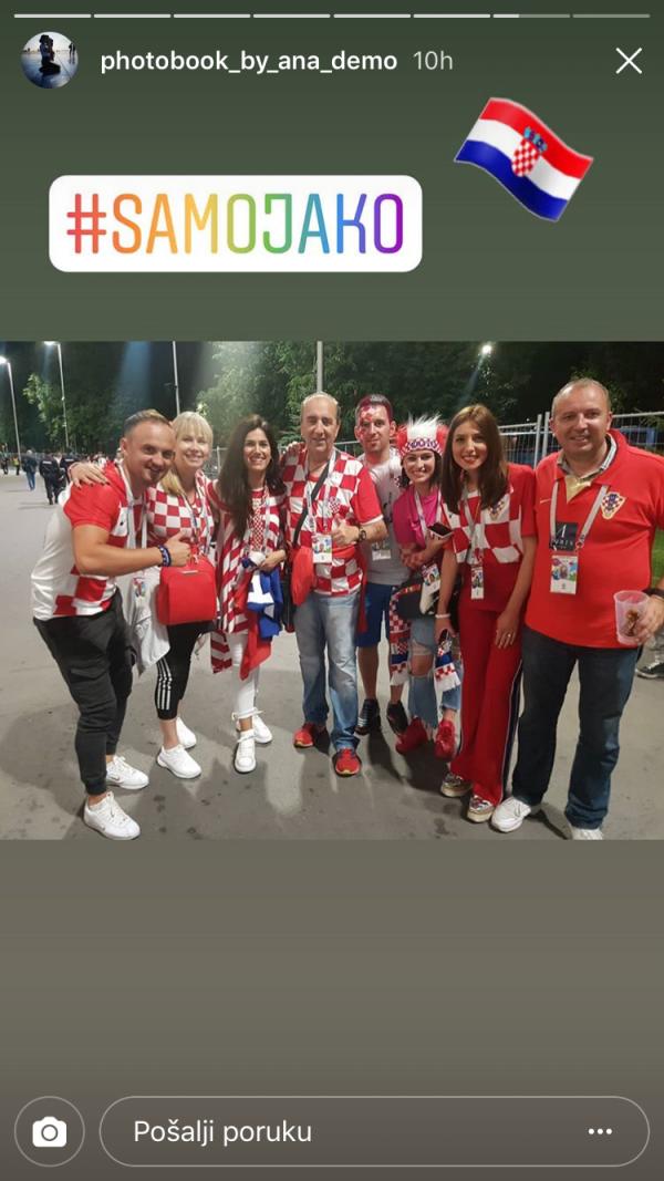 Supruga Danijela Subašića s prijateljima i Mladenom Grdovićem
