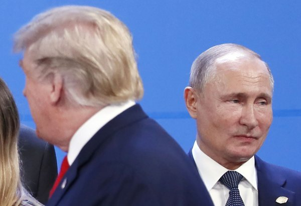 Donald Trump i Vladimir Putin u Argentini