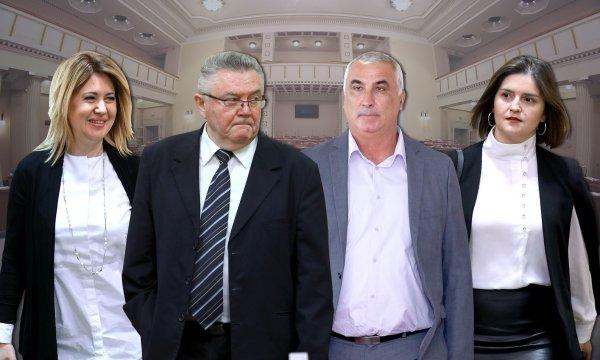 Milanka Opačić, Zdravko Ronko, Mladen Madjer, Marija Puh