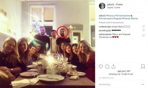 Jelena Veljača blagdane je provela u društvu bivšeg supruga Dražena Čučeka i sadašnjeg partnera Ivana Gale