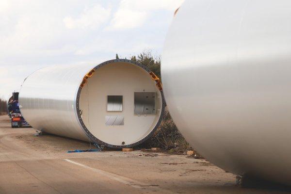Stubovi za vjetroelektranu Krš-Pađene