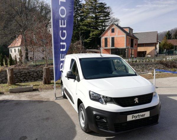 Nova generacija Peugeot Partner Furgona na predstavljanju u Hrvatskoj