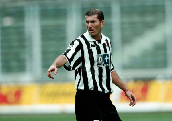 Zinedine Zidane u dresu Juventusa
