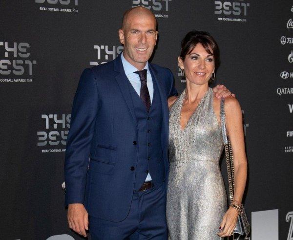 Zinedine Zidane i supruga Veronique