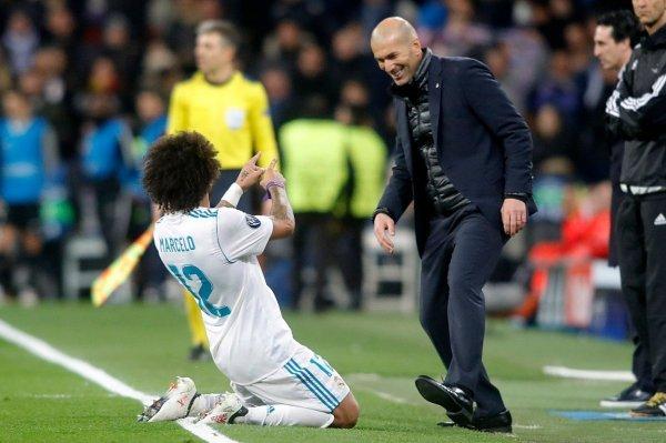 Marcelo i Zinedine Zidane