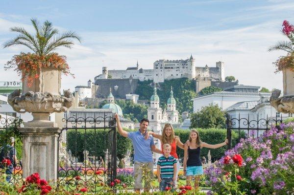 Familie in Salzburg