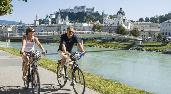 Radfahren in Salzburg
